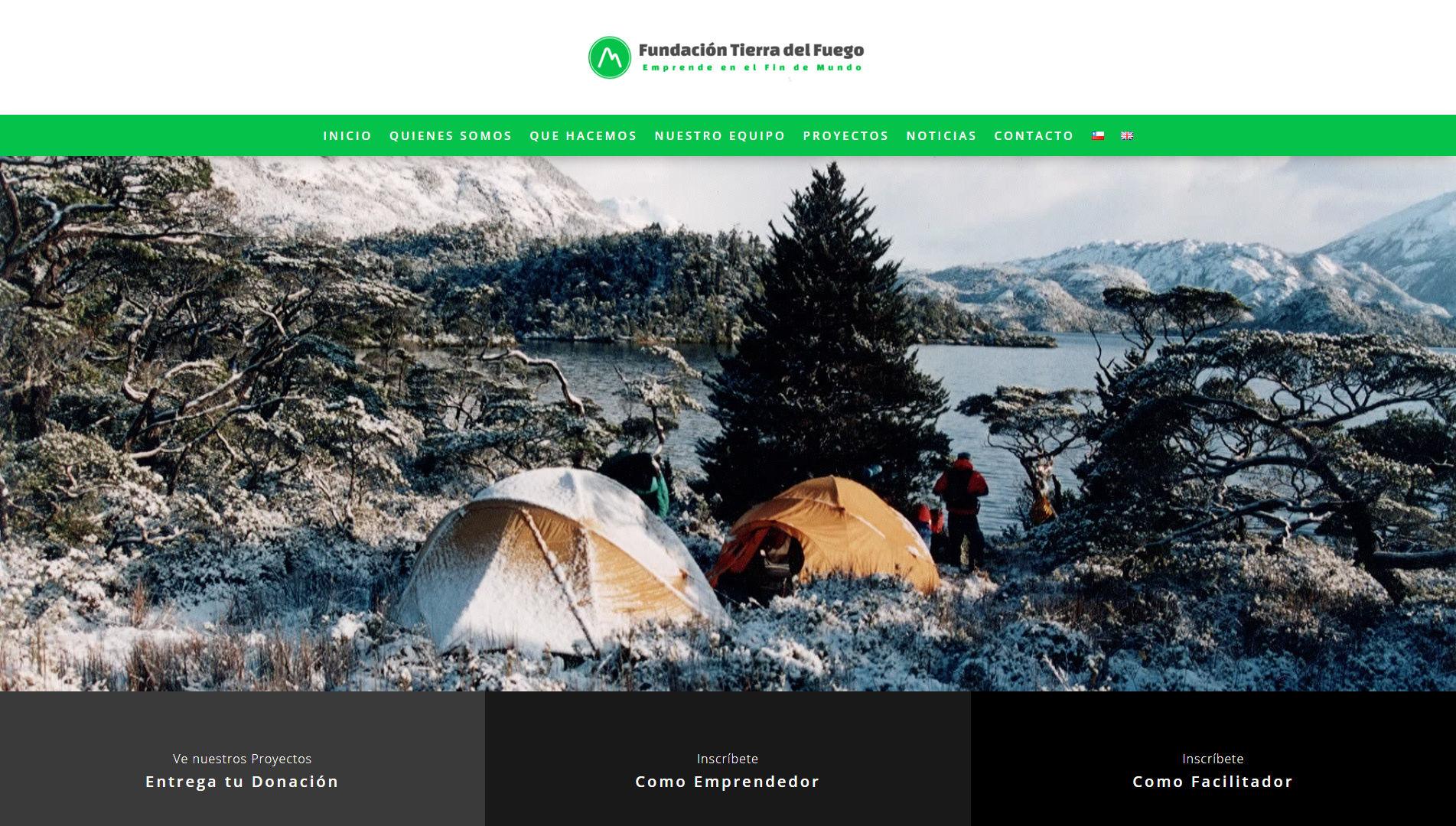 fundaciontierradelfuego.org Portada